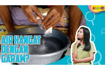 Rendam Kaki Dengan Larutan Air Garam Hangat Dan Rasakan Manfaatnya Bobo