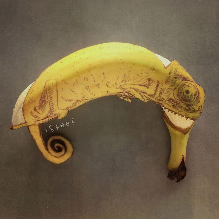 Karya seni dari pisang