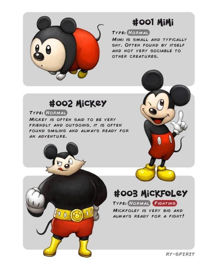 Karakter Disney Berubah Menjadi Pokemon Dan Punya Kekuatan Super Semua Halaman Bobo