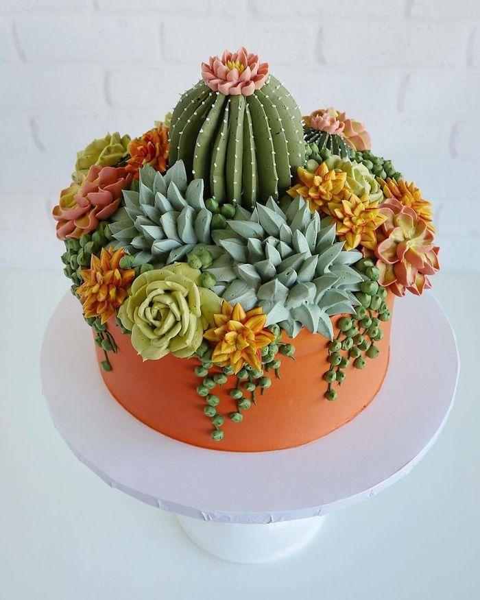 Mulai Dari Unicorn Sampai Tanaman Kaktus Bentuk Kue Ini