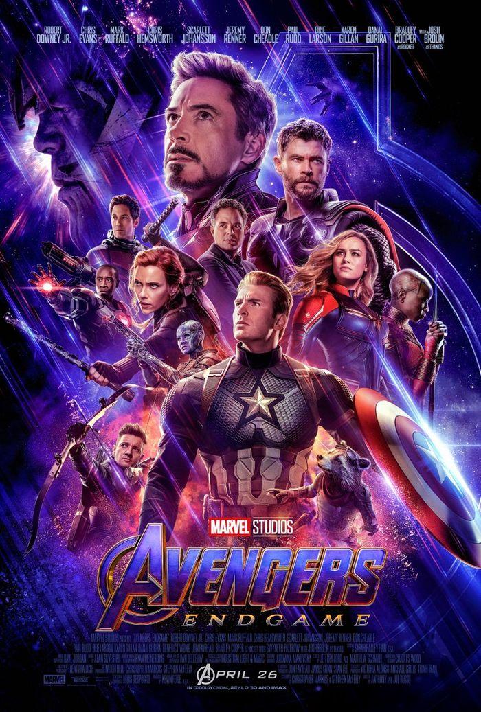 Poster terbaru Avengers: Endgame