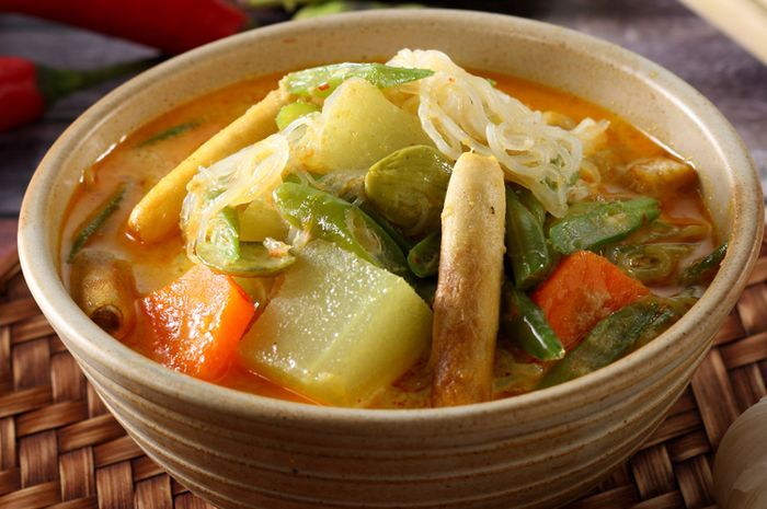 Makanan khas Betawi sayur besan