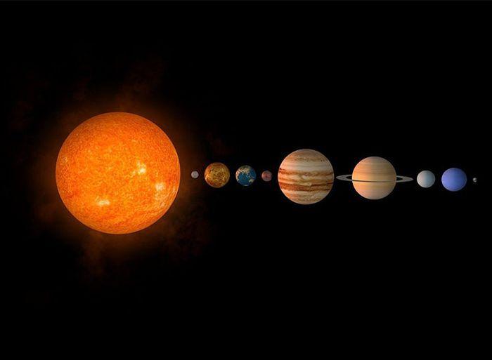 Matriz de planetas más alejados del Sol.
