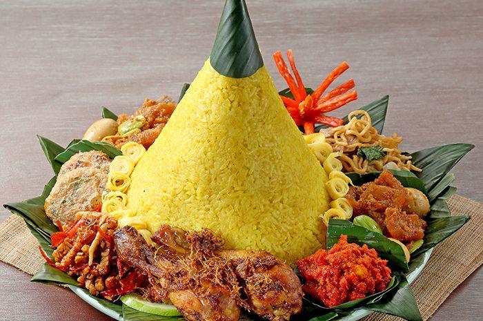 Mengenal Nasi Tumpeng Nasi Kuning Berbentuk Kerucut Yang Penuh Makna Semua Halaman Bobo