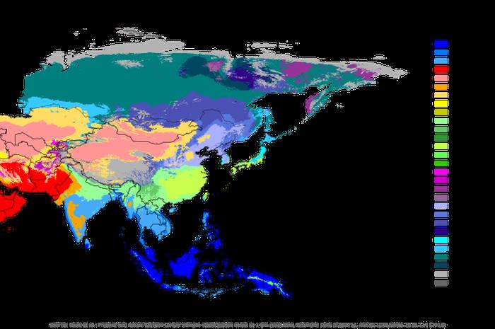 Jadi Benua Terbesar Di Dunia Ini Macam Macam Iklim Benua Asia Semua Halaman Bobo