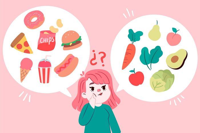 Ini Contoh Makanan Sehat Dan Tidak Sehat Materi Belajar Dari Rumah Sd Kelas 1 3 Semua Halaman Bobo