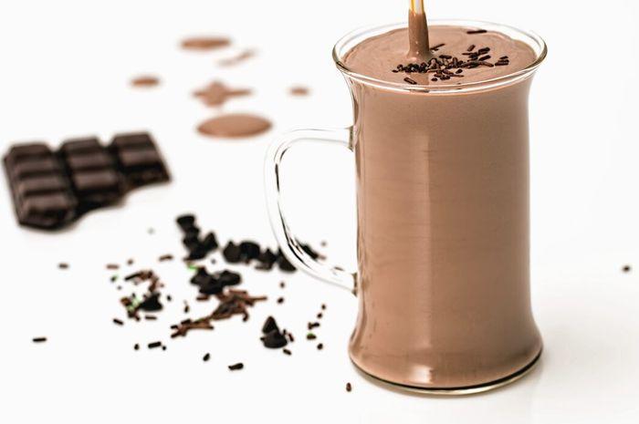 Spicy chocolate milk recipe.
