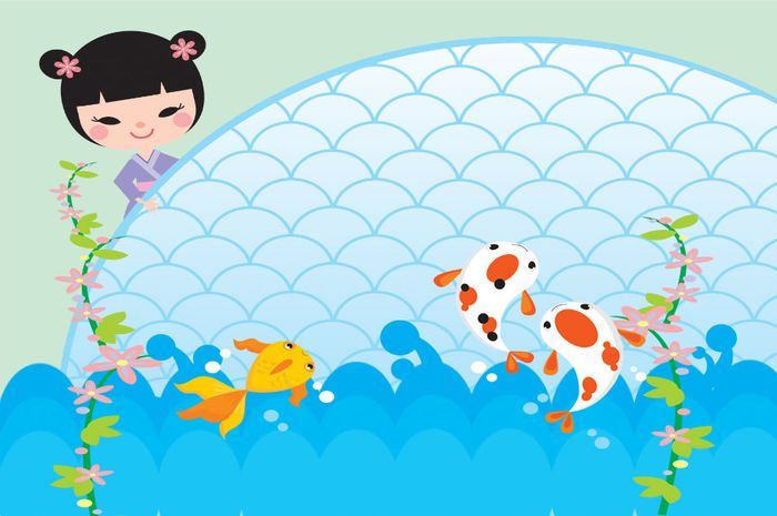 Kisah Tiga Ekor Ikan Semua Halaman Bobo Grid Id
