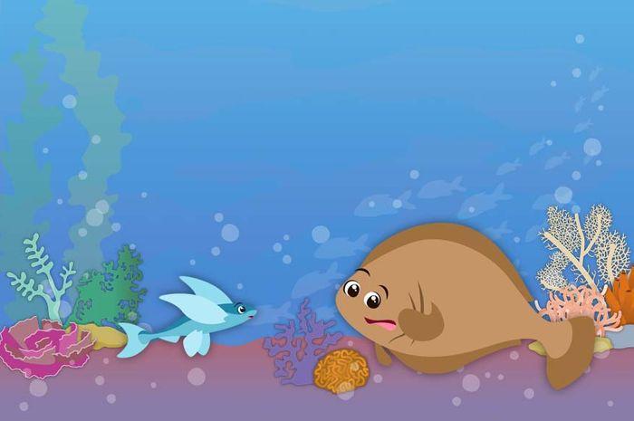 Dongeng Ikan Sole Yang Iri Hati Semua Halaman Bobo Grid Id