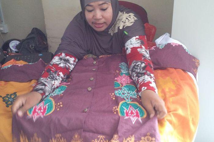 Mengenal Batik Lulantatibu Motif Gabungan 4 Suku Dayak Semua