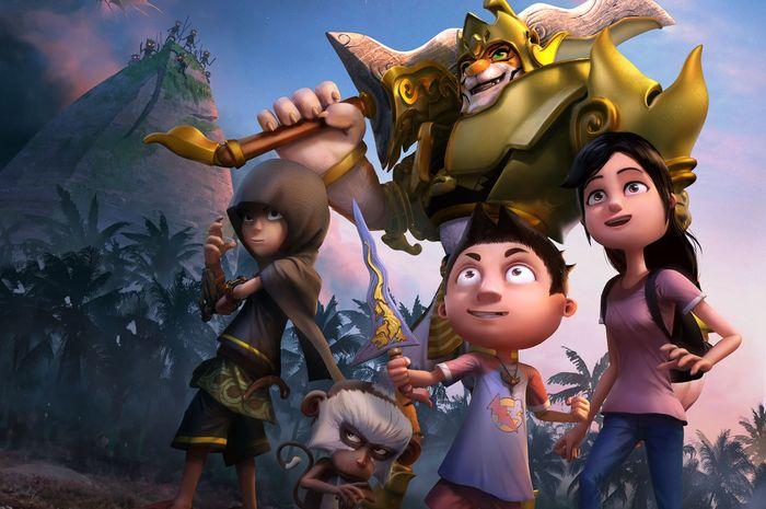 Unduh 56  Gambar Animasi Anak Gimbal HD Terbaru