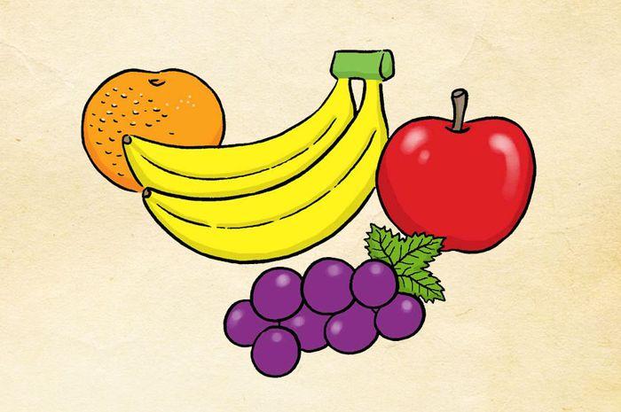 Contoh Gambar Animasi Makanan Dan Minuman Aku Ruhana