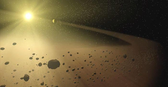 Ilustrasi sabuk asteroid