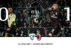 Hasil Liga Italia - Gol Ante Rebic Antar AC Milan Raih Poin Penuh di Markas Brescia