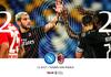 Hasil Liga Italia - Diwarnai Kartu Merah, Napoli dan AC Milan Berbagi Poin