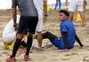 Skuad Arema FC Berlatih di Pantai Bersama Pelatih Baru, Ini Tujuannya