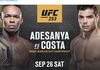 Jadwal UFC 253 - Termasuk Paulo Costa vs Israel Adesanya, 2 Laga Perebutan Sabuk Juara