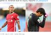 Liverpool Vs Arsenal - Si Merah Terancam Tanpa Alisson dan Thiago