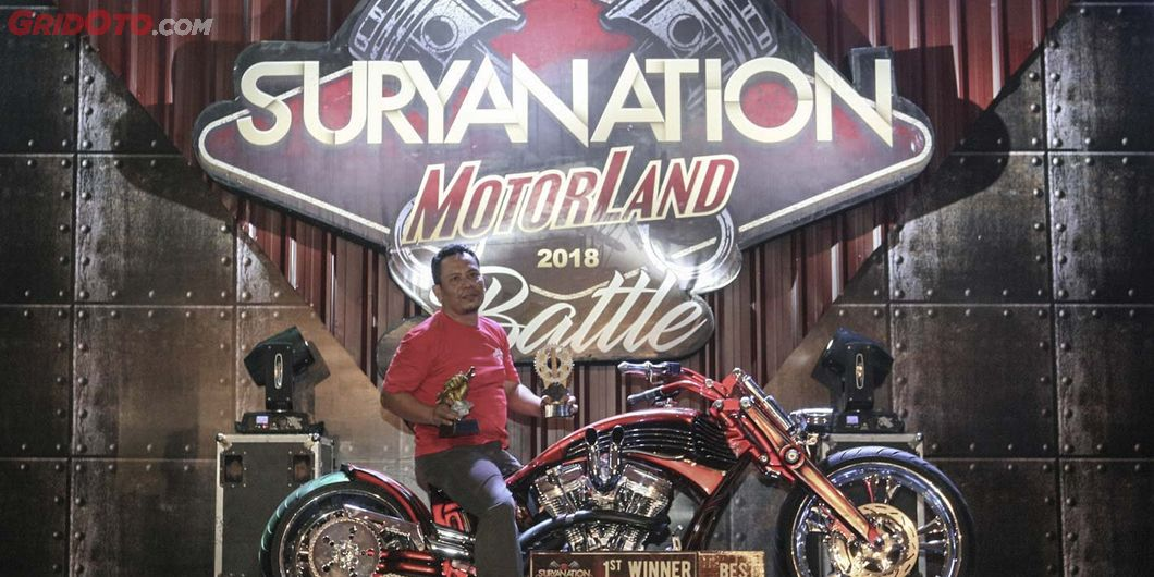Doger , Best of The Best Suryanation Motorland Battle 2018 Semarang - Photo : Indra Kurniawan
