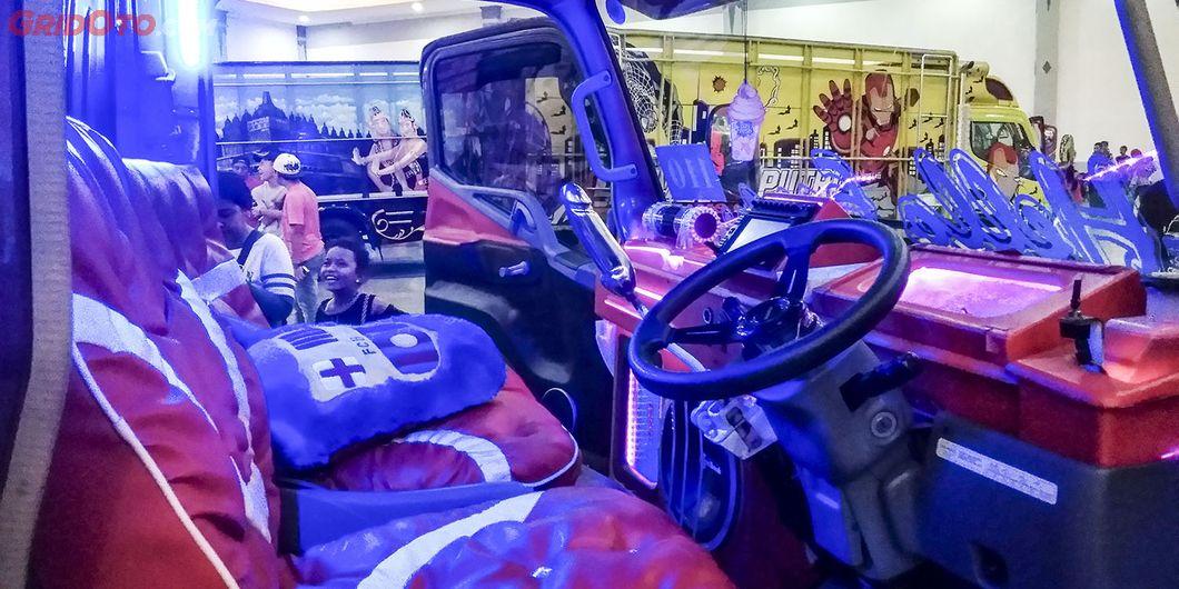 Interior Police Woman, salah satu kontestan di Jogjakarta Truck Festival 2018 - Hikmawan M Firdaus