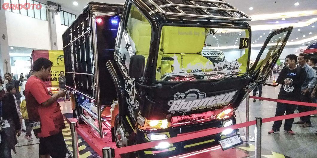 Shipman, salah satu kontestan modifikasi truk Fuso di JFT 2018 - Hikmawan M Firdaus