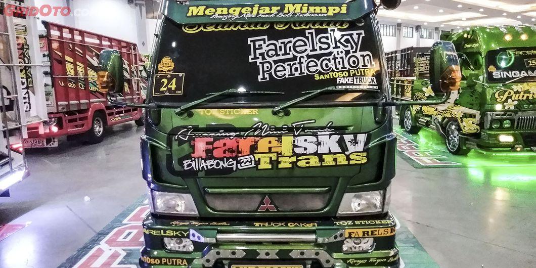 Farelsky Trans, salah satu kontestan modifikasi truk Fuso di JFT 2018 - Hikmawan M Firdaus