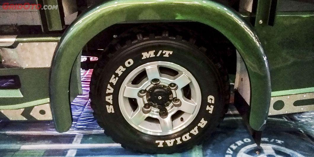 Pelek gaul Farelsky Trans, salah satu kontestan modifikasi truk di JFT 2018 – Hikmawan M Firdaus