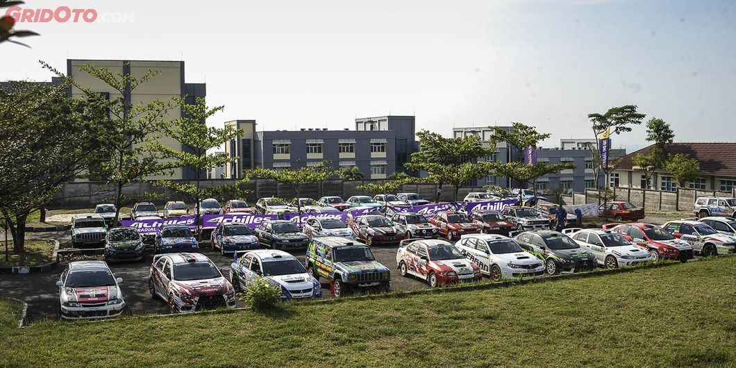 Parc Ferme di Kejurnas Sprint Reli Tarmac, Put 4 IPSC Sentul 2018. Photo Rizky Avryandi