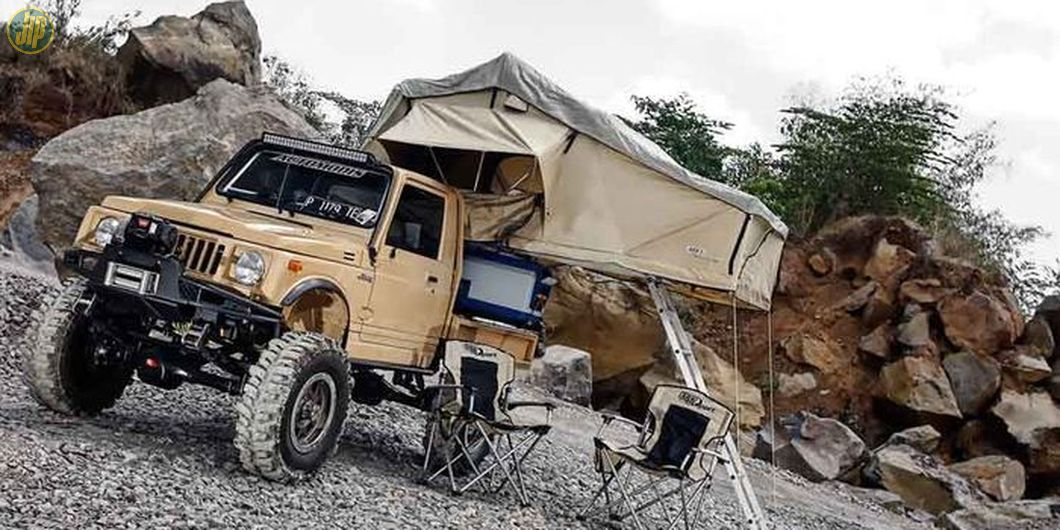 Suzuki Jimny bisa buat camping