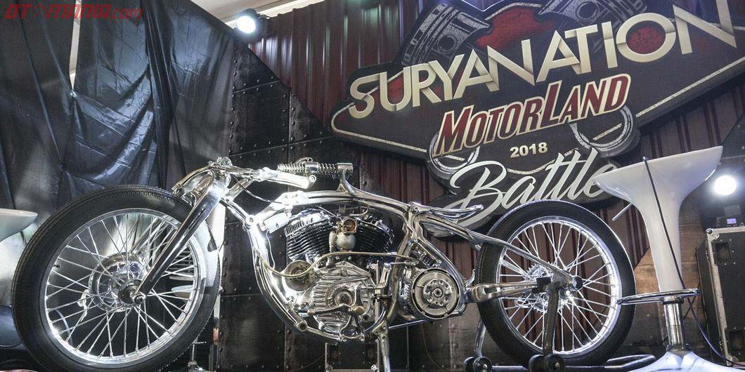 Boardtracker,  Iconic bike Suryanation Motorland 2018 - Photo : Indra Kurniawan