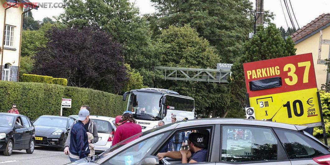 Suasana Jalan menuju sirkuit Spa-Francorchamps, Belgia 2018  - Photo : Antonio Beniah Hotbonar