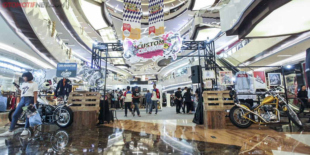 Ragam industri kreatif di Custom Collaboration 2018. Photo : Indra Kurniawan