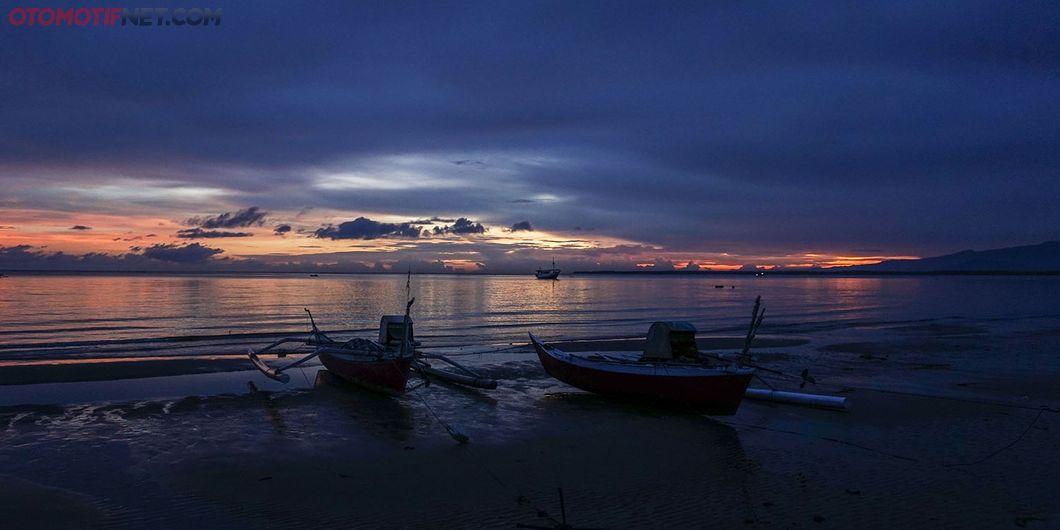 Perjalanan MAXI YAMAHA Tour de Indonesia, rute Makassar - Tanjung Bira. Photo : M Adam Samudra