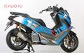 Video Yamaha NMAX Modif Bertema Ken Block, Mesinnya Sudah 180cc!