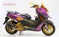 Habis Rp 100 Juta, NMAX Ini Raih Best Elegant Customaxi Makassar