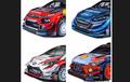 Livery Mobil Reli untuk WRC 2019 Sudah Dirilis, Keren Yang Mana?