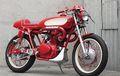 Honda CB350 Dandan Cafe Racer, Pakai Baju Serba Merah Tambah Bergairah