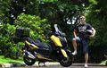 Sah Bergaya Touring, Modifikasi Yamaha XMAX Ini Masih Akan Berlanjut
