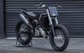 Motor Trail KTM Makin Sangar Setalah Dirombak Jadi Street Tracker