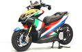 Motif Helm Johann Zarco Bungkus Aerox Juara Bandung