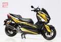 Enggak Main-main, Yamaha XMAX Milik Lady Biker Ini Modifnya Habis Puluhan Juta!