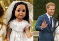 Ingin Jadi Bagian Sejarah, Perempuan ini Ciptakan Boneka Pangeran Harry dan Meghan