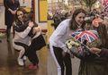 Menggemaskan! Anak-anak Sekolah Berbaris Untuk Memeluk Kate Middleton