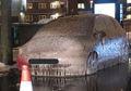 London Alami Badai Salju Hingga Sebuah Mobil Membeku Berhari-hari