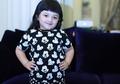 Kenakan Dress Hitam Motif Bintang Saat Ulang Tahun Anang, Penampilan Arsy Hermansyah Bikin Gemas!