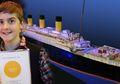 Hebat, Anak dengan Autisme Ini Berhasil Membuat Kapal Titanic Terbesar di Dunia dengan Lego!