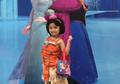 Anak Ayu Ting Ting Bergaya Putri Moana, Warganet Mengomentarinya Seperti Ini