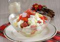 Salad Buah Jeli Stroberi, Enak dan Berguna Untuk Pencernaan