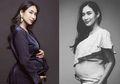 Unggah Maternity Photoshoot Monokrom, Happy Salma Banjir Pujian