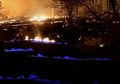 Erupsi Gunung Kilauea Ciptakan Api Biru di Sekitar Aliran Lava